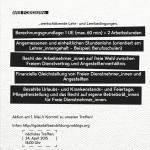 Nächstes Treffen am 24. April, 15.00 Uhr - Lerncafé am Volkertplatz